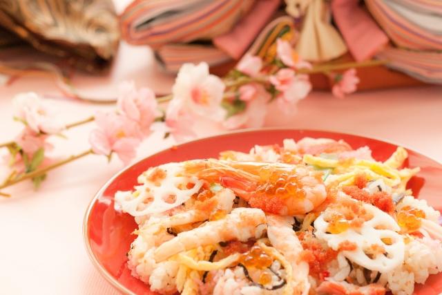 人気のちらし寿司のレシピ