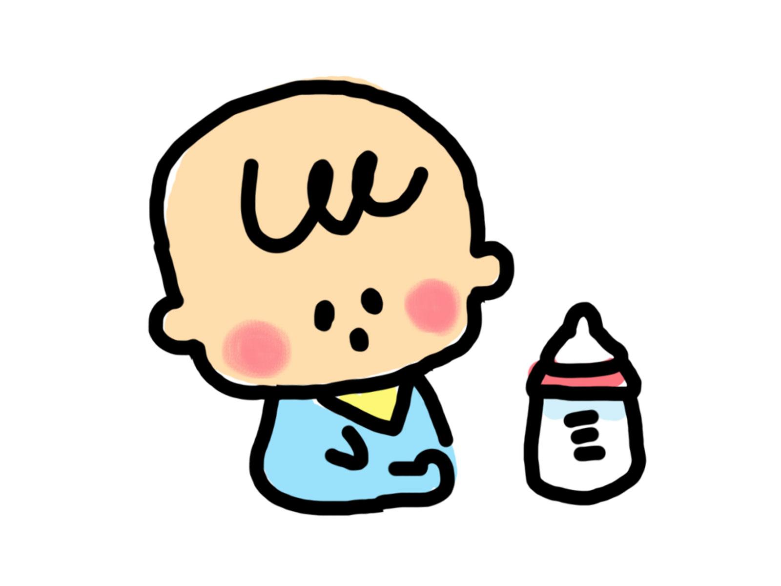 赤ちゃんのかわいい無料イラスト13選! | 育児ネット