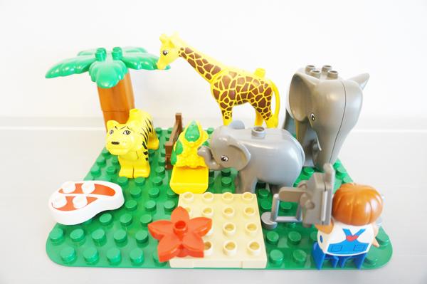 レゴデュプロ動物園