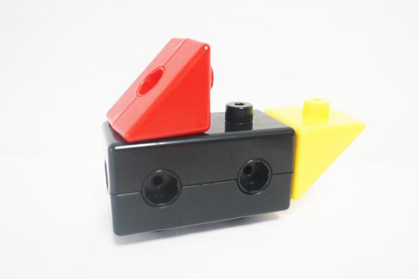 こどもちゃれんじぷちの色形ブロック