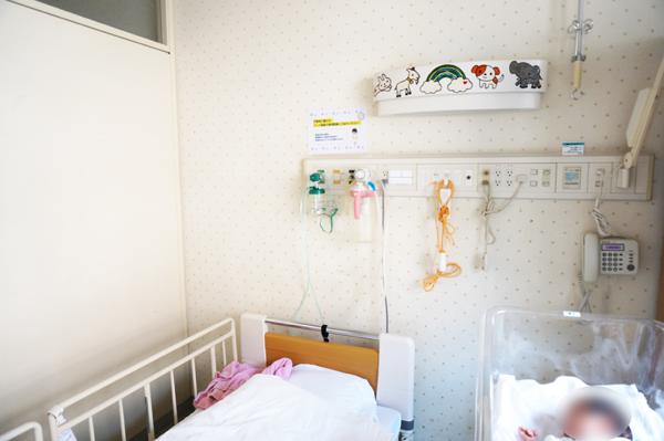 RSウイルスになり新生児で入院