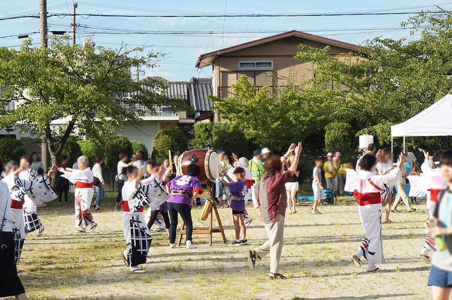 春日井市ネオポリスの納涼祭り、盆踊り大会