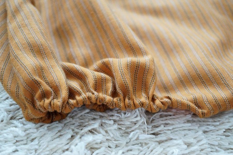 赤ちゃんのかぼちゃの衣装、手作りパンプキンオールの無料型紙
