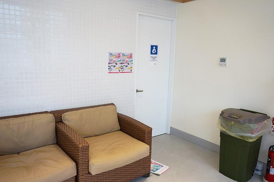 レゴランドホテル・メイカーズピアの授乳室