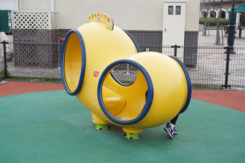 土岐プレミアムアウトレットの子供の遊び場、公園の遊具を紹介