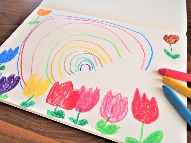 ソレダメで話題、子供の絵のクレヨンはアイロンをかけると落ちにくくなる!