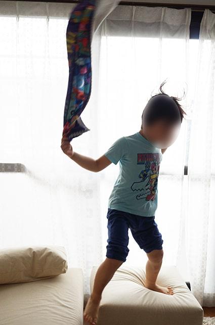 タオルを使った子供の室内遊びベスト3。安全で楽しく遊べる!